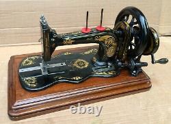 1879 Antique Singer 12k Fiddle base Hand Crank Sewing Machine