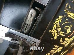 1888 Antique Singer 12k Fiddle base Hand Crank Sewing Machine