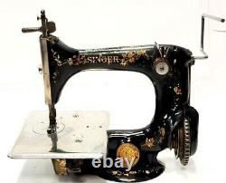 Antigua maquina de coser SINGER 24-7 Antique rare sewing machine 1910