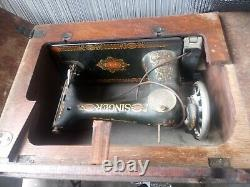 Antique 1911 Singer Treadle Sewing Machine Model 66