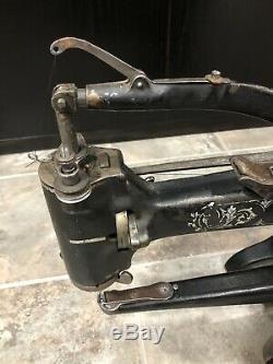 Antique Singer #12160999 Arm Leather Patcher Sewing Machine Antique Industrial