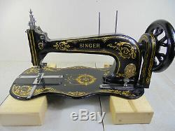 Antique Singer 13k Industrial Fiddlebase Sewing Machine Head Only