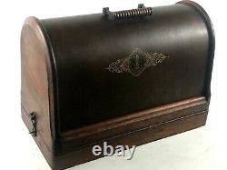 Antique Singer 28K Hand Crank Sewing Machine c1898 FREE Shipping 5679 A