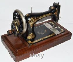 Antique Singer 28K Hand Crank Sewing Machine c1899 FREE Delivery PL2167