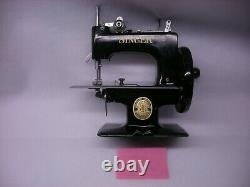 Antique Singer Sewhandy 20 Toy Miniature Sewing Machine Refurbished Complete