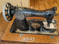 Antique Singer Sewing Machine (1916 G-Series)