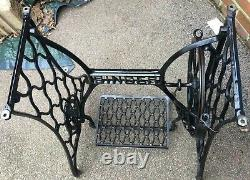 Antique Singer Sewing machine Treadle Frame/Stand only