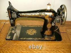 Antique Singer Treadle Sewing Machine, Model/Class 127