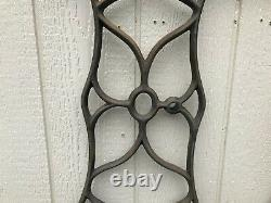 Antique Singer Treadle Sewing Machine legs Cast Iron 1874