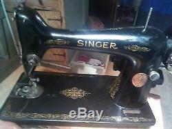 Antique Singer sewing machine ca. 1930 BEAUTIFUL, Mint Condition