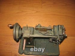 Antique Vintage SINGER Pique Glove Sewing Machine Model 46K1 1910 Very Rare