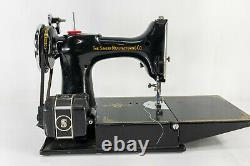 Antique Vintage Singer Featherweight Sewing Machine 221-1 Carrying Case