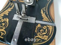 Beautiful unrestored Antique 1887 Singer 13K Sewing Machine Rare model
