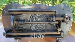 Fiddle Base 1884 Singer Improved Family Sewing Machine Interesting & Very Rare