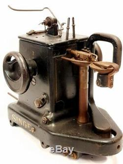 Maquina de coser SINGER 46K26 ANTIQUE INDUSTRIAL GLOVES & LEATHER SEWING MACHINE