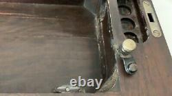 Original Classic SINGER 15 Sewing Machine BENT WOOD CASE