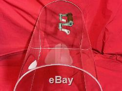 Perspex Crystal Clear Plexiglass Dome Lid SINGER Sewing Machine Case 15 201 66