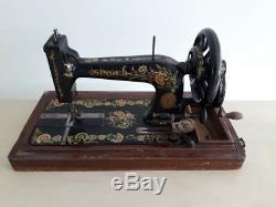 Rare 1906 model Singer 48k Ottoman Hand Crank sewing machine S540327