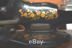 Rare Antique 1902 Singer Model 24-30 Sewing Machine withModified Motor
