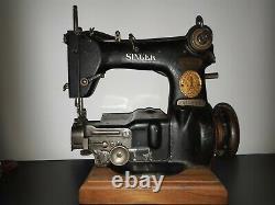 Rare Antique 1921 Singer 25-56 braid milliner sewing Machine