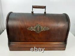 Rare Antique Singer 12k Fiddlebase Sewing Machine, Full Service & Sews Perfectly