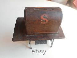 Rare C. 1925 Tin & CI Singer Sewing Machine Banks. Singer Sewing Machine Bank
