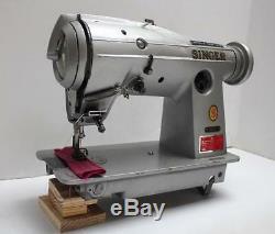 SINGER 457G1 Vintage Zig Zag Lockstitch Industrial Sewing Machine Head Only