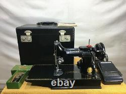 Singer 221k Antique Featherweight Sewing Machine