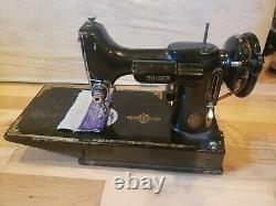 Singer Featherweight 221 Sewing Machine 1950s Antique Machine With Original Case