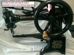 Singer Sewing 29k 81869 82008 82052 Front Shaft, Hub, Gear 4 Handwheel Relocate