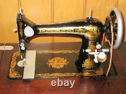 Singer Treadle Sewing machine withcabinet early 1900