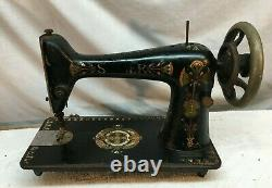 VINTAGE ANTIQUE 1900s SINGER CAST IRON INDUSTRIAL SEWING MACHINE HEAD ONLY