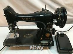 VINTAGE ANTIQUE 1900s SINGER CAST IRON SEWING MACHINE HEAD ONLY 99 Working