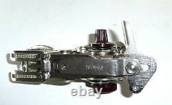 Vintage Singer 160991 160990 zig-zag sewing machine attachment swiss antique