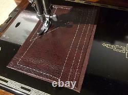 Vintage Singer 201K, 201 Handcrank sewing machine FOR LEATHER