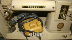 Vintage Singer 301A Sewing Machine Good Condition, Long Bed S/N NA373875
