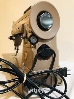 Vintage Singer 301A Sewing Machine Original Case 1957 NB103346 Works