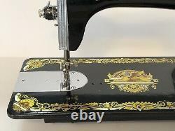 Vintage Singer Sewing Machine Phoenix Sphinx Design Beautiful Condition