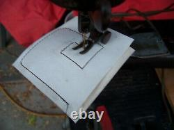 Working Singer 29-4 industrial Sewing Machine / Cobbler / Leather With motor