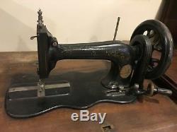 1879 Machines À Coudre Singer Fiddle Base