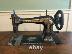 1898 Singer Bande De Roulement Machine À Coudre