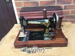 1903 Antique Chanteur 28, Machine À Coudre 28k