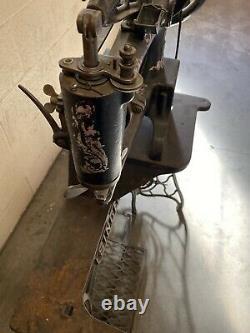 1914 Singer 29k1 Cordonnier En Cuir Machine À Coudre Industrielle