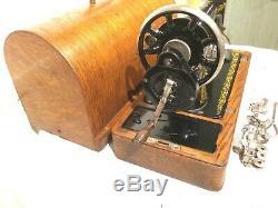 1923 Chanteur Antique 99k Machine À Coudre, Machine À Coudre Vintage