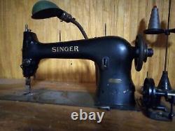 1926 Machine À Coudre Industrielle Singer Aa998026 Modèle 31 15