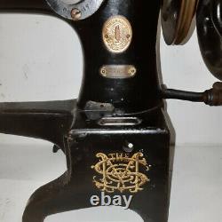 1931 Singer 29k51 Cordonnier En Cuir Machine À Coudre Industrielle