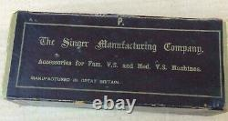 Accessoires Vintage Singer Family Et Medium Vibrating Shuttle Sewing Machine
