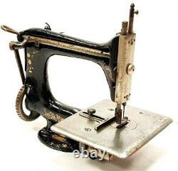 Antigua Maquina De Coser Singer 24-26 Antique Machine À Coudre Rare 1916