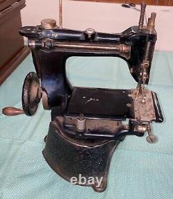 Antique 125-2 Singer Machine À Coudre Industrielle Rare