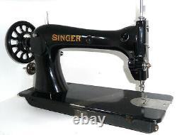 Antique Industriel Singer 16k23 Machine À Coudre En Cuir Toile Denim Lourd